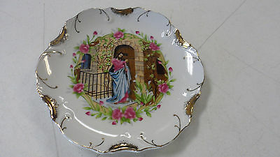 Beautiful Made In Japan 18K Gold Trim Jesus Collector Plate