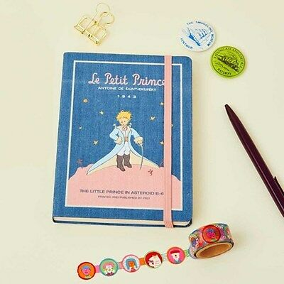 Le Petit Prince-Cape 2017 New Undated Diary Planner Scheduler calendarAgenda