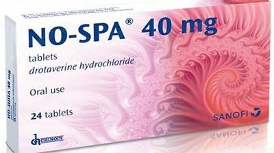 NO-SPA 40mg 24 tablets Antispasmodic Smooth Muscle Spasm