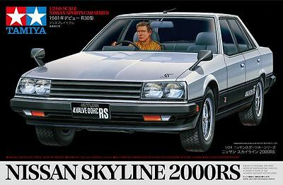 Tamiya 89725 1/24 Scale Model Sport Car Kit Nissan Skyline R30 2000RS DR30 Sedan
