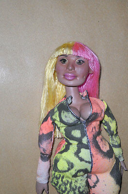 Nicki Minaj Super Bass inspired Art Doll 1:6 scale Hip Hop Pop
