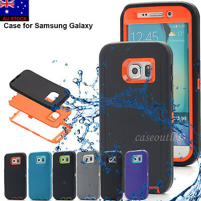 Hybrid Shockproof Heavy Duty Hard Case Fr Samsung Galaxy S6 S7 S8 Plus Note5/9/8
