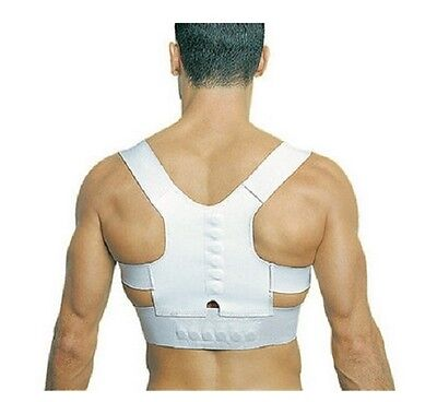 Back Pain Relief - Magnetic Posture Shoulder & Back Support - Magnets healing!!!