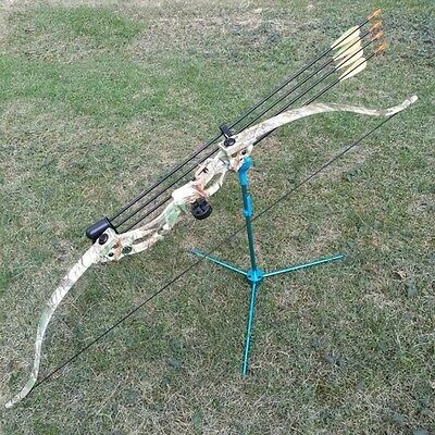 "48 in. Recurve Bow Draw 20lbs Weight 28""Length F Women Children Bows Archery"