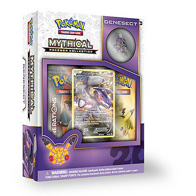 Pokemon Mythical Pokemon Collection - Genesect Pin Box