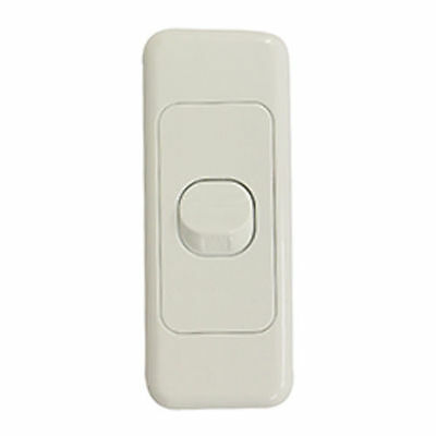 10 x 1 Gang 2 Way Architrave Switch - WHITE - Electrical Light Switch - SAA