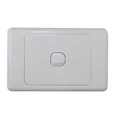 10 x 1 Gang Single Wall Switch - 2 Way Switching - Electrical Light Switch - SAA