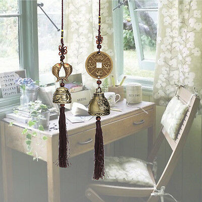 Chinese Bells Lucky Feng Shui Hanging Wind Chimes Home Yard Garden Outdoor Decor