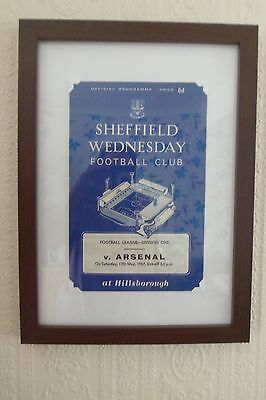 Framed Football Memorabilla