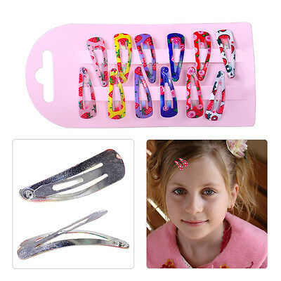 60pcs Colourful Baby Girl Hair Clips Snap Hairpin Barrette Headwear Accessories