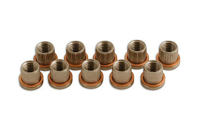 Laser Tools 5038 Threaded Inserts - 10Pc
