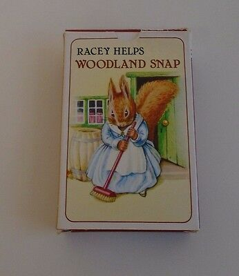 Racey Helps Woodland Snap Card Game - New Sealed Cards