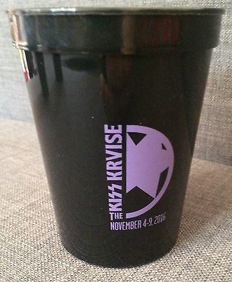 Kiss Kruise Vi Purple The Starchild Paul Stanley Limited Edition Cabo Cup Kiss