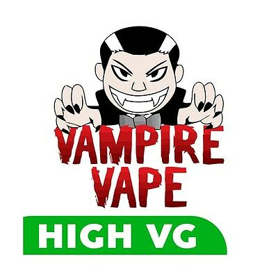 Vampire Vape 4x10ml Various Flavours and strengths £12.99 inc Signed Delivery