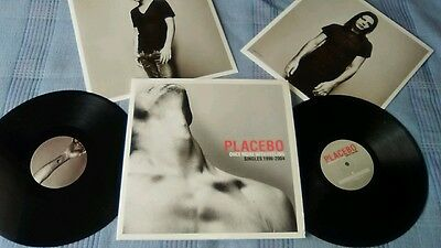 PLACEBO Once More With Feeling, 2x Vinyl LP Singles 1996-2004