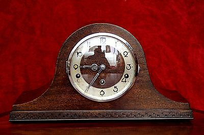 Vintage German 8-Day Mantel Clock with Westminster Chimes • £140.00