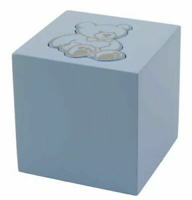 Blue Infant 20 Cubic Inch Funeral Cremation Urn for Ashes