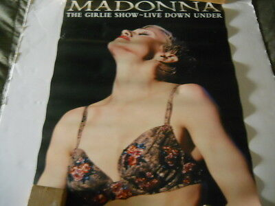 Madonna - The Girlie Show Live Down Under - Poster 1994