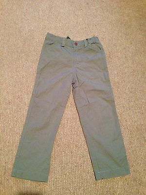 EUC straight fit gray green pants - size 5T