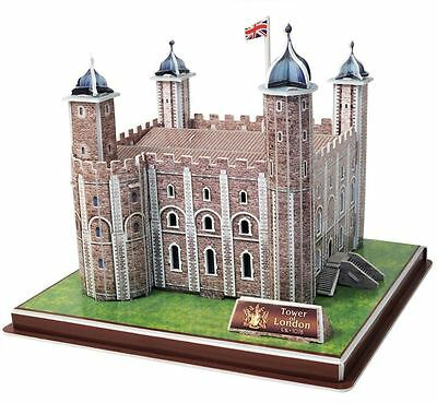 3D Tower Of London Jigsaw Puzzle 40 Piece Build Your Own Model Kit