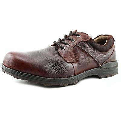Dockers Suffolk Men  Round Toe Leather Brown Oxford