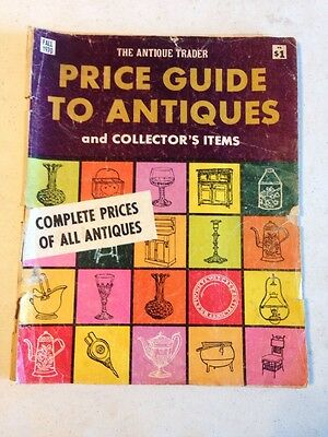 The Antique Trader Price Guide To Antiques and Collector's Items Fall 1970 Issue
