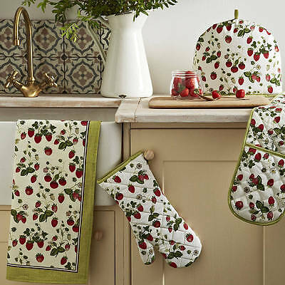 Ulster Weavers RHS Strawberry Double Oven Glove NEW