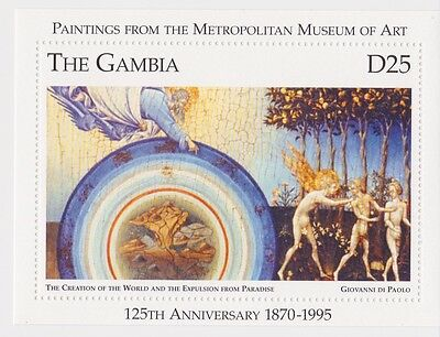 Gambia - Paintings from the Metropolitan Museum of Art, 1996 - Sc 1722 S/S MNH