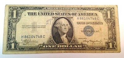 Series 1935A One $1 Dollar Silver Certificate