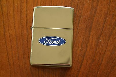 ZIPPO Lighter, Ford Blue Oval, 2010, Unfired, M300