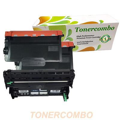 2 pk TN850 Toner + 1 pk DR820 Drum for Brother DCP-L5600DN Printer FAST SHIPPING