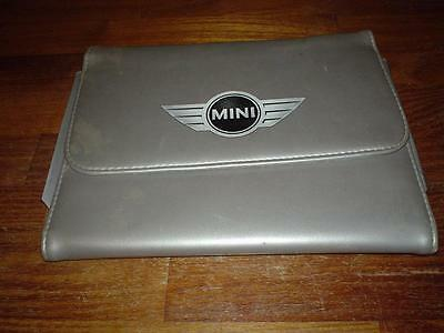 BMW NEW MINI WALLET CLUBMAN ONE COOPER S For Owners Handbook Service Manual Book