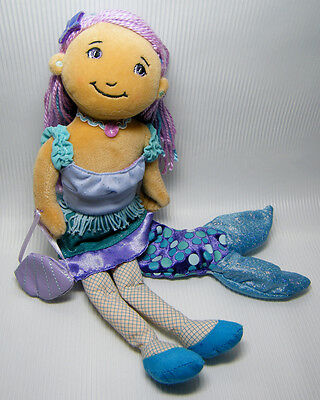 """MADDIE MERMAID 13"""" Groovy Girls Transforming Doll with Outfit, Manhattan Toy"""
