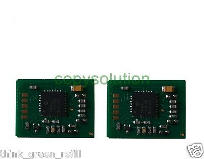 2 x Toner Reset Chip for OKI C5600 / C5700  CYAN + MAGENTA 2K CLEARANCE SALE