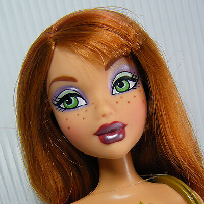 KENZIE My Scene Shopping Spree Barbie Doll with Red Hair & freckles NICE!