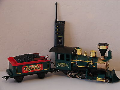 NEW G Scale Scientific Toys/EZTEC SERVICE RAILWAY LOCO and Tender with Remote
