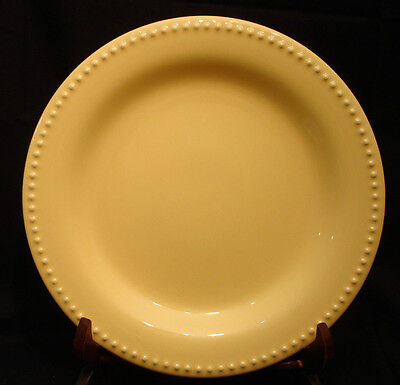 """Emma Yellow by Pottery Barn DINNER PLATE 11 1/8"""""""