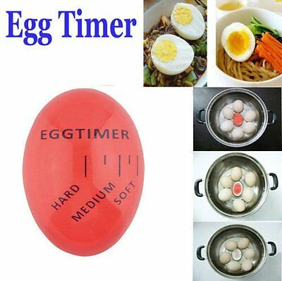 Magic Color Changing Egg Timer Kitchen Cook Cooking Boil Eggs Thermometer New M2