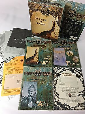 Planescape Planes of Chaos Boxed Set (AD&D 2nd Ed. Campaign) TSR 2603 Complete!