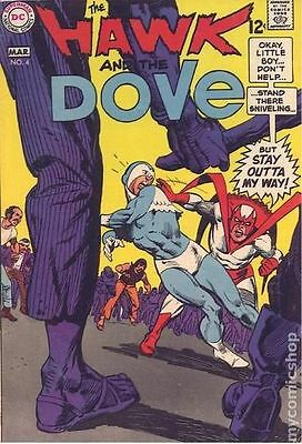 Hawk and Dove (1968 1st Series) #4 FN- 5.5 LOW GRADE
