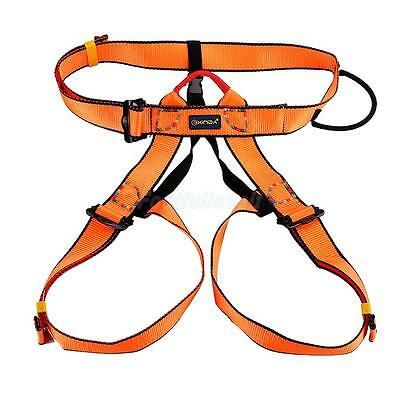 Rock Climbing Carving Aborist Seat Safety Belt Harness Bust Rappelling Gear