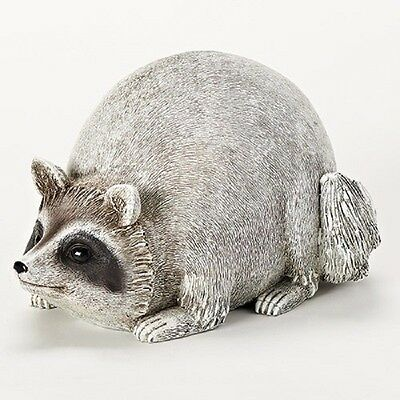 Raccoon Garden Statue Pudgy Pals By Roman Gifts