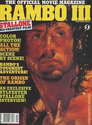 Rambo III Official Movie Magazine (1988) #1 VG+ 4.5 LOW GRADE