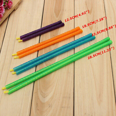 New 8pcs 4 Sizes Seal Stick Storage Chip Bag Fresh Food Snack Clip Grip Coffee