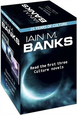 Iain M. Banks 25th anniversary box set: Books 1-3 of the Culture series (Paperb.