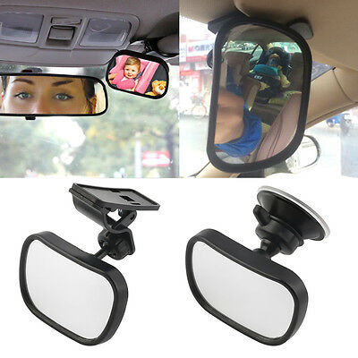 Universal Car Rear Seat View Mirror Baby Child Safety With Clip and Sucker ZV