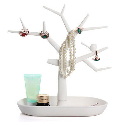 Jewelry Necklace Ring Earring Tree Stand Display Organizer Holder Show Rack ZV