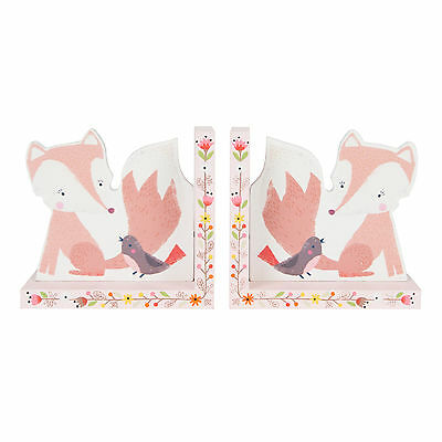 Gorgeous Children's Bookends Fox Woodland Friends Bedroom Decor by Sass & Belle