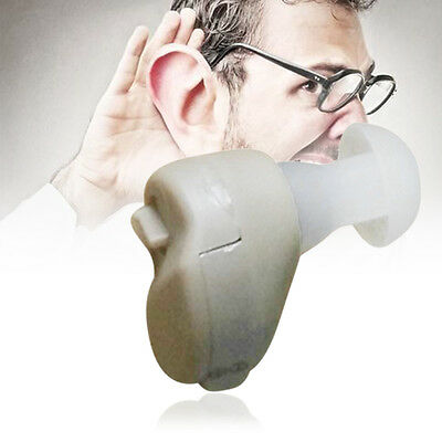 New Small In-Ear Voice Sound Amplifier Adjustable Tone Mini Hearing Ear Aid ZC