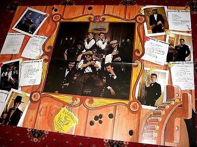 Madness - Fan Club Members Poster - Madness As Cowboys - Suggs Specials Two Tone